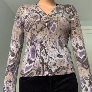 Nordstrom Sweaters - Courage B Animal Printed Carigan